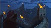 《花木兰》动画导演首登长城 坦言二十年前的创作全凭想象