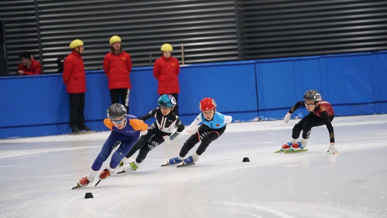 2019年京津冀青少年U系列短道速滑冠军赛在京举行