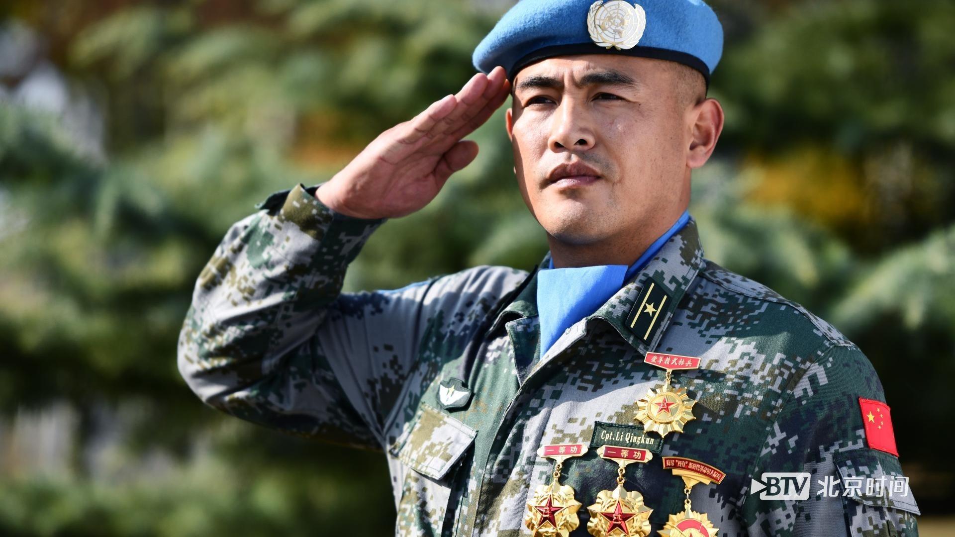 """""""蓝盔勇士""""李庆昆:他是闪耀在西非大地的""""中国红""""!"""