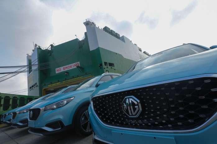 MG ZS纯电动SUV欧洲市场获3000订单,上汽1-9月出口同比增15%