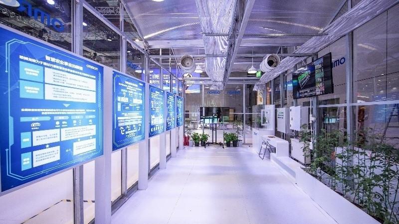 """""""享智动,近未来""""欧姆龙携全新自动化技术亮相第二届进博会"""