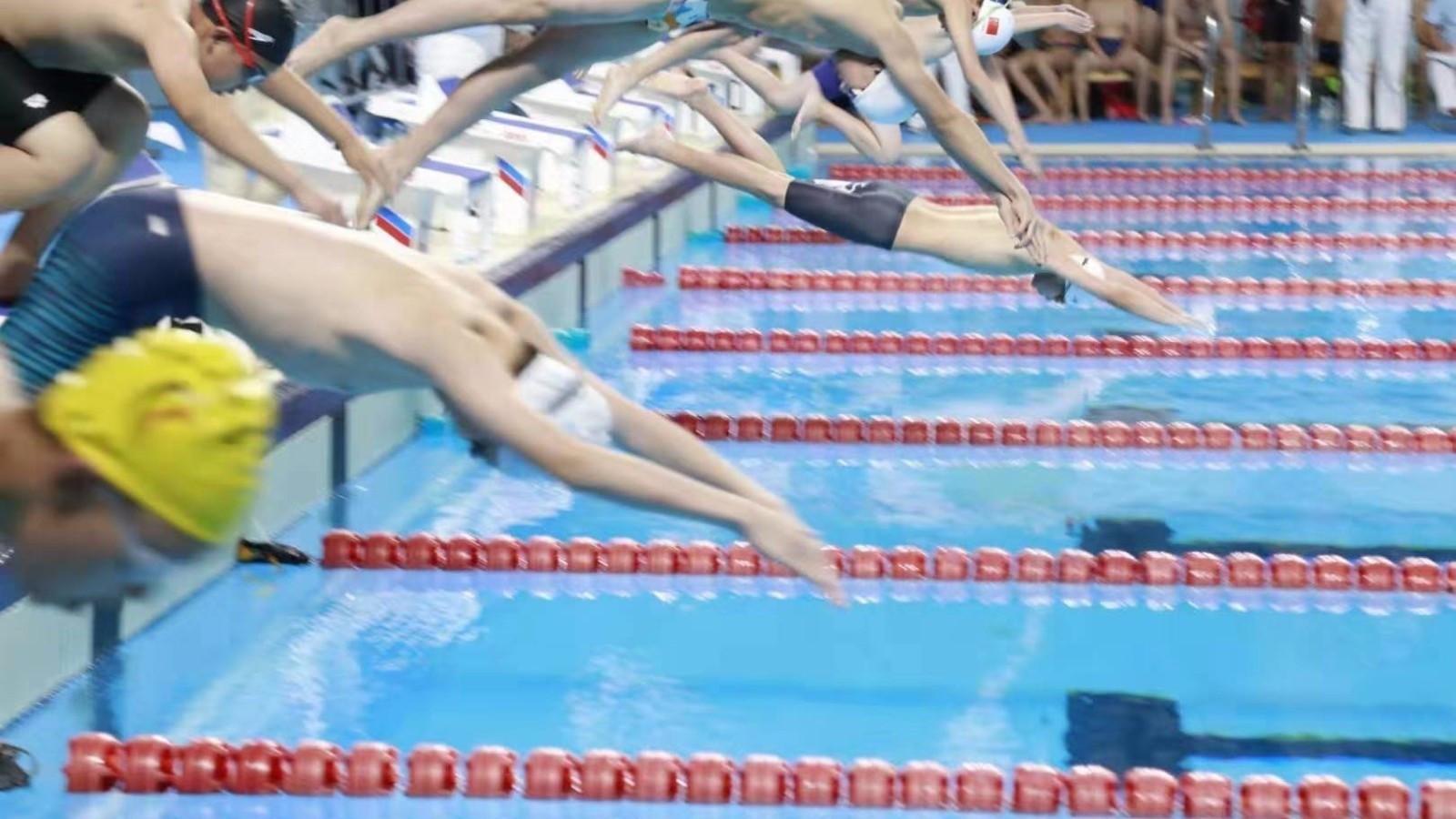 2019年京津冀游泳公开赛在京举行 2200多人参赛