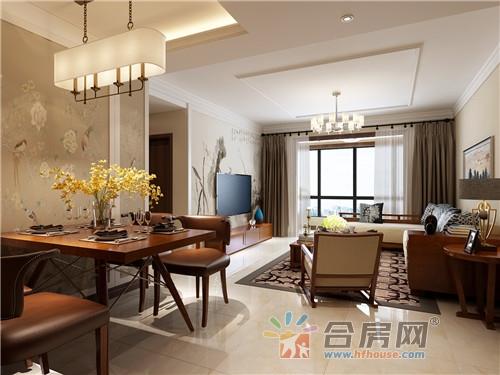 135平米公寓中式风格装修效果图2017图片大全