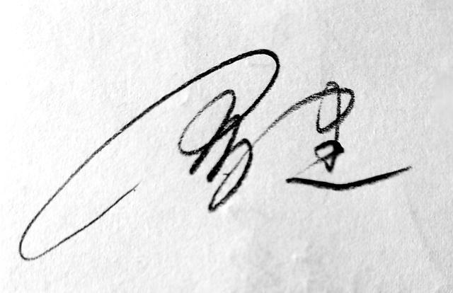 免费艺术签名,你留字,我设计