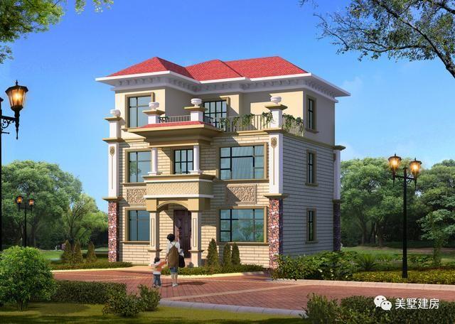 三款经典农村自建房别墅款式,村长看了都直呼房子建早图片