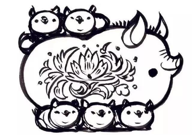 要上微博澄清猴腮雷的韩美林,今年再画猪年邮票图片