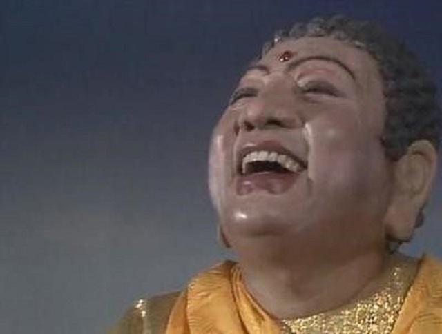西游记珍贵剧照:他有天生佛像,扮演如来佛祖被千万人塑像供奉!图片