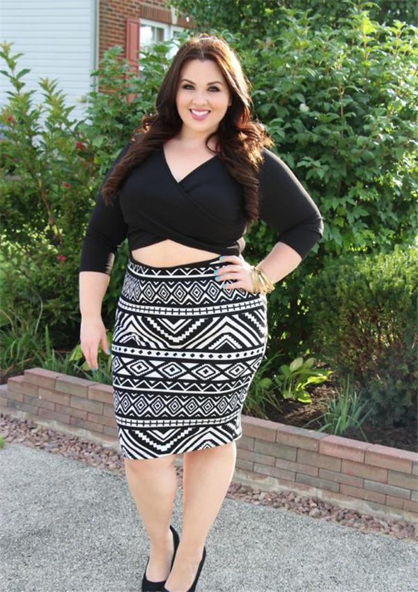 胖女胖屄_高胖女生穿衣搭配技巧 最新胖子穿衣搭配街拍秀