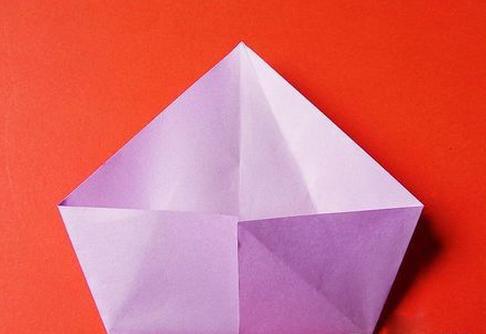 立体天鹅的折法图解步骤四