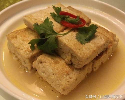 大同广灵冬天美食特色:糟广场豆腐石家庄荣盛美食图片