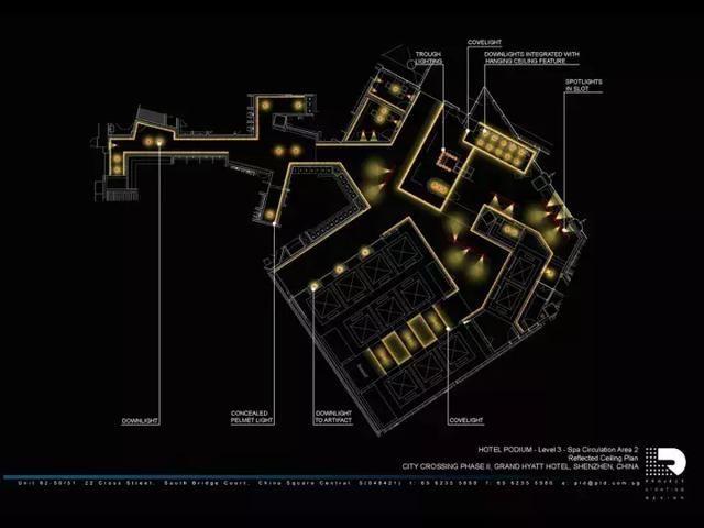 室内设计:2018灯光设计概念方案50余套|灯光布局设计方案50套