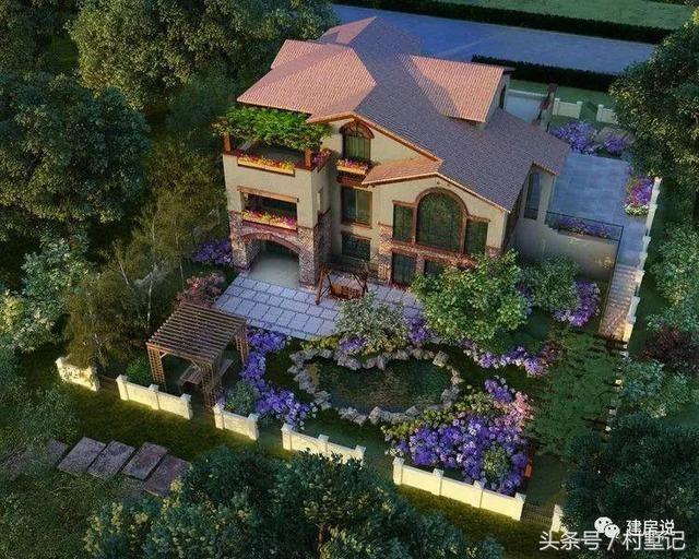 看完这15套带院子的农村别墅,想跟土豪房主做朋友