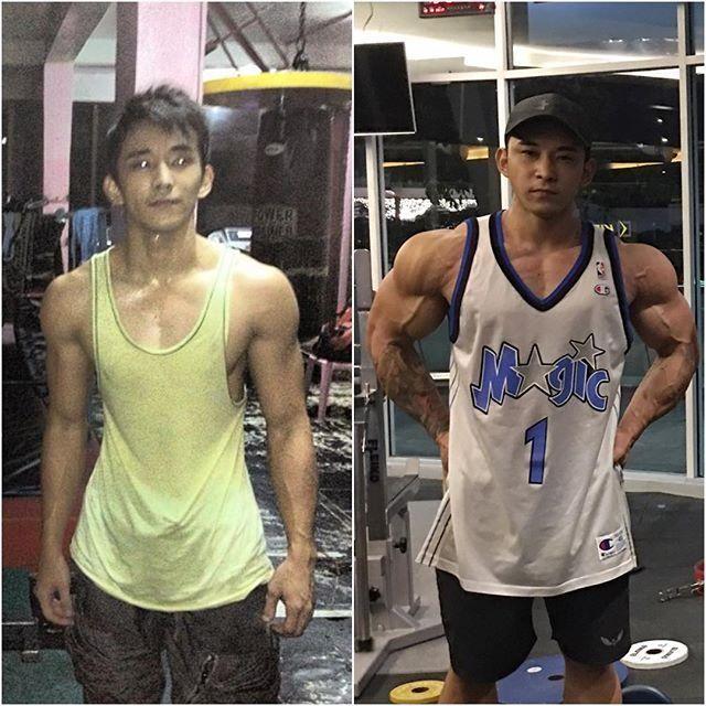 菲律宾肌肉猛男,健身是他唯一的信仰,哪怕抛弃了朋友!