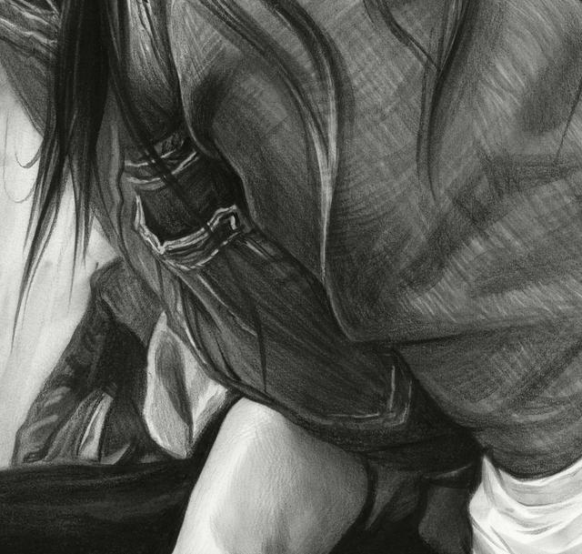 素描大师刘斌给女神丽热巴画的素描画,就问你像不像,美不美!
