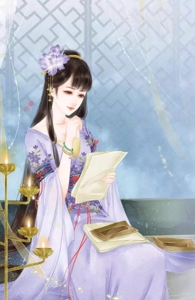 12星座手绘古风,每一个都是貌美如花,倾国倾城!