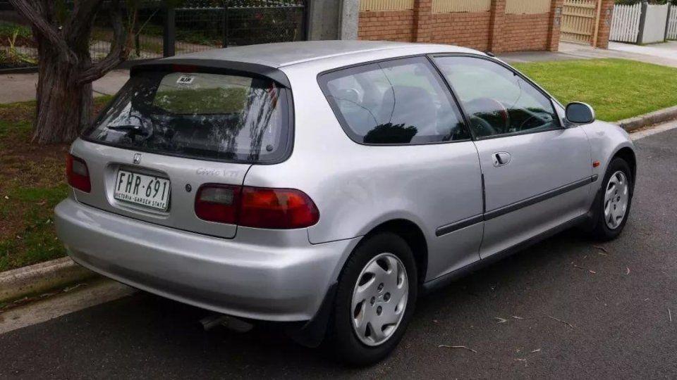 第五代思域(1992-1995)