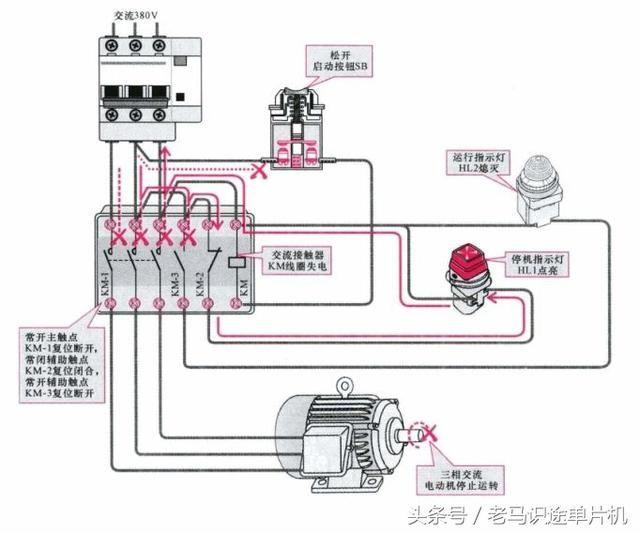 电路识图62-接触器的工作原理及其在电路中的应用