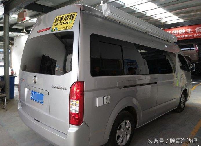 福田風景g9房車,車友大咖自行改裝,比原廠還溫馨舒適.