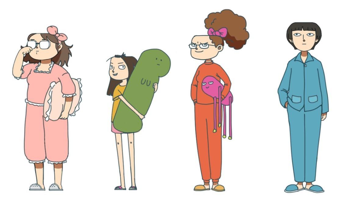 这群清华美院90后做的动画片《女生宿舍日常》,让你想