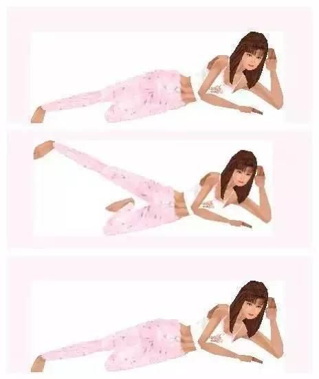 """坚持睡前4个小动作,""""小粗腿""""轻松瘦一圈"""