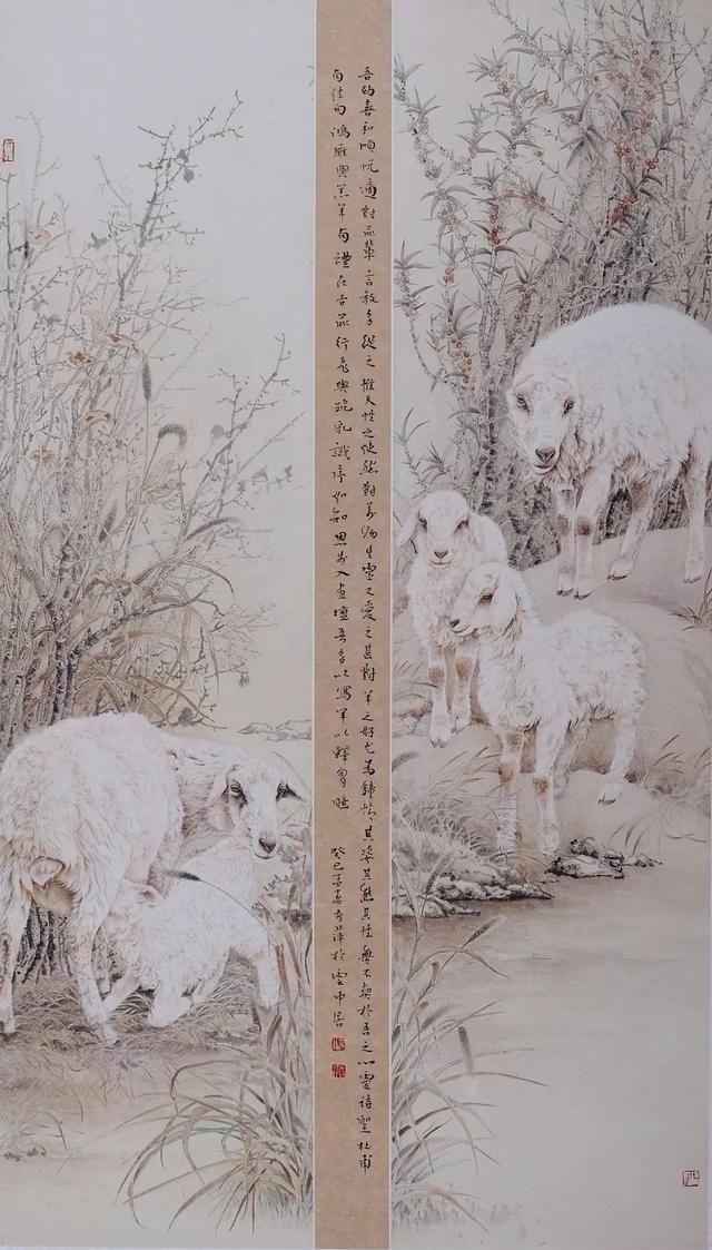 作品展|张秀萍工笔动物画作品欣赏