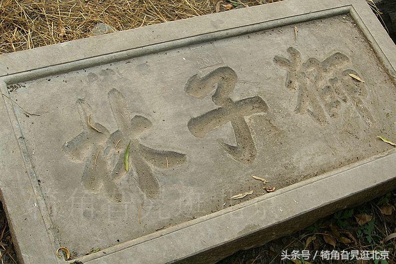 圆明园狮子林景区内乾隆题字刻石十年来发生的变化