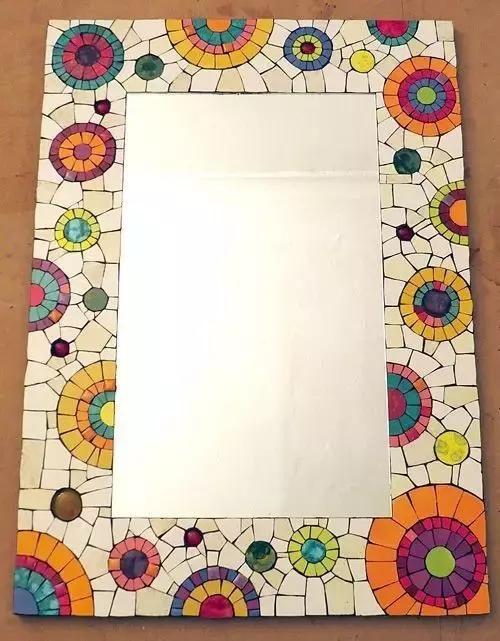 幼儿园废物利用教程:收了这波创意手工相框,我保证你会喜欢!