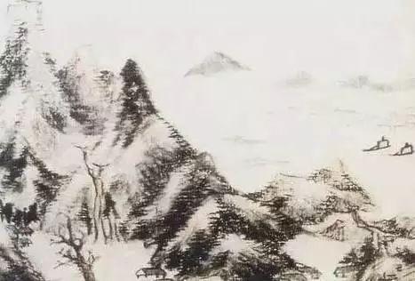 加上披麻皴和折带皴及其他皴法,丰富了米点皴的画法,使米点皴更具表现