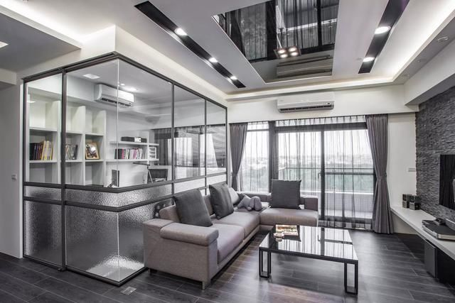 灰色系欧式客厅