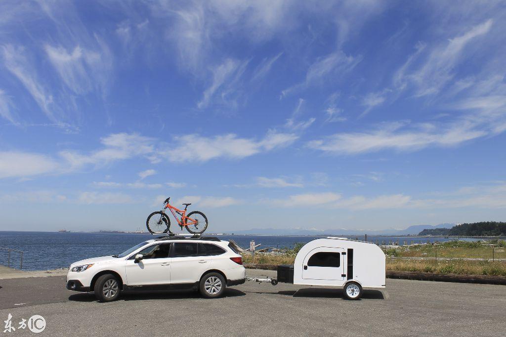 一个小拖车实现房车梦,网友表示:首先你要能买得起拖它的车