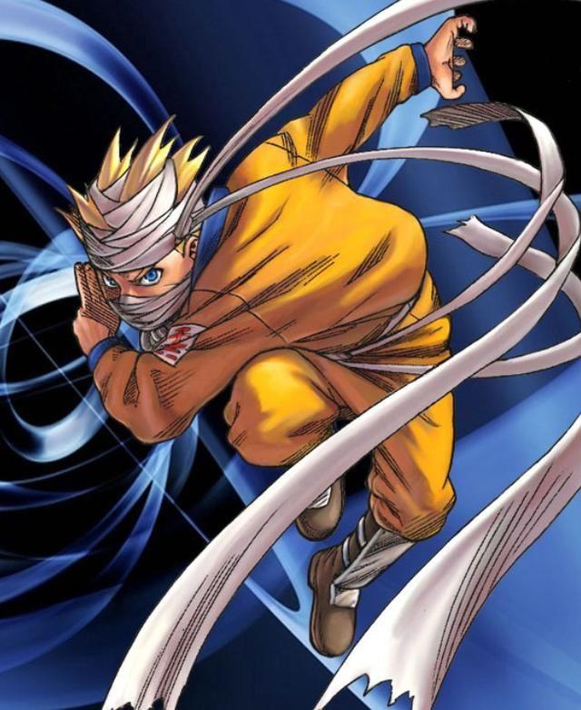 动漫美图丨火影忍者,一个不肯服输的傻小子,漩涡鸣人!