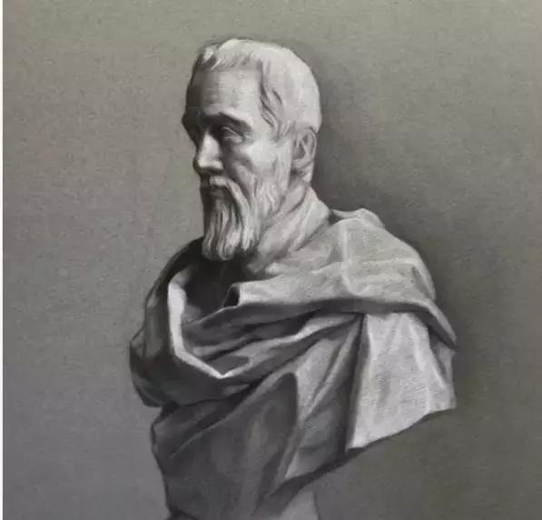 画素描从石膏像开始,掌握五官结构特征