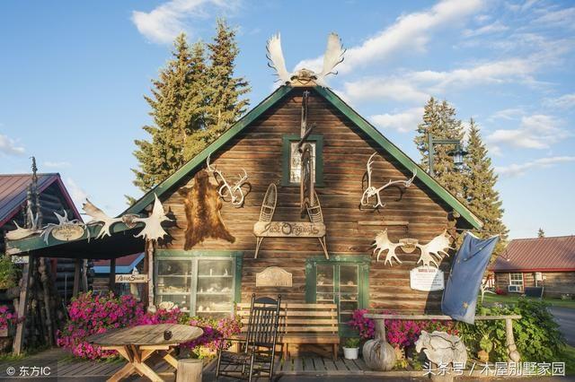 梦幻的小木屋,儿时的田园童话梦图片