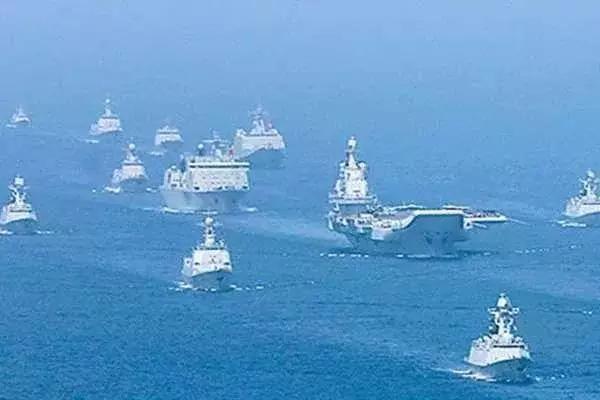 据美国海军最新消息,美国两艘航母已经在中国沿海游弋,各携带80架