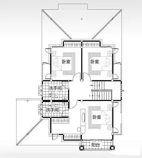 小户型别墅,5室2厅,内外兼修!