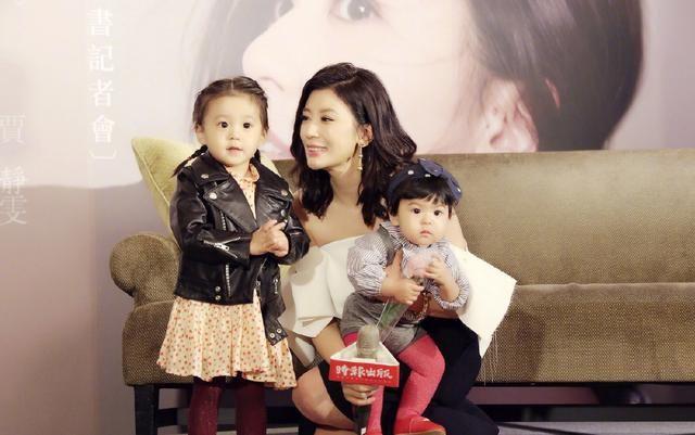 贾静雯女儿是吃可爱多长大的吗?好想看她上《爸爸去哪儿6》啊!