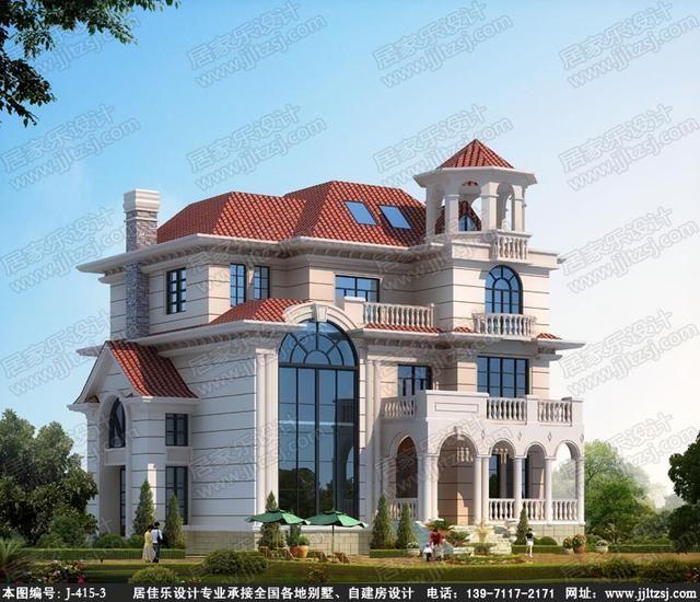 三层欧式豪华别墅