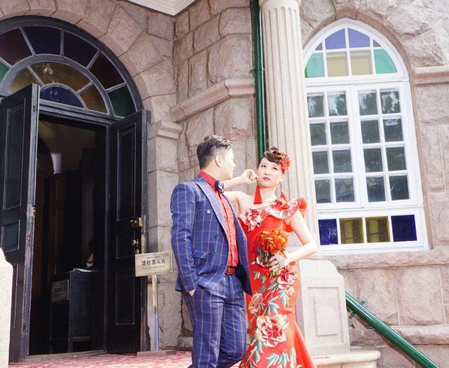 青岛欧式古堡建筑掠影:花石楼--据传蒋介石曾两次入住