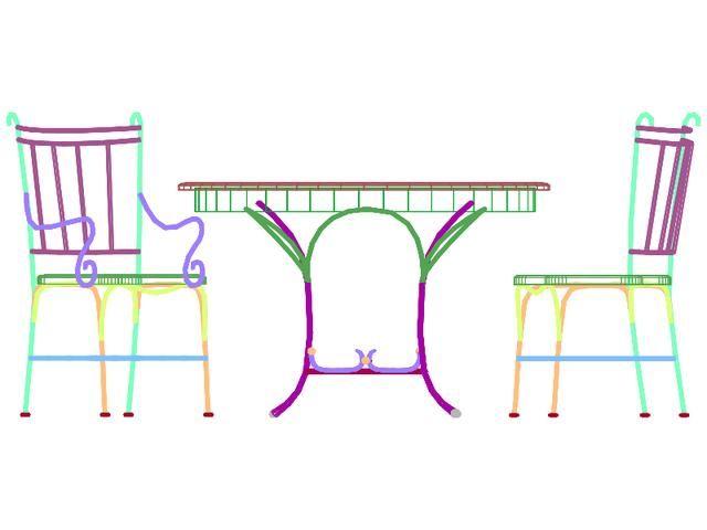 CAD三维下来图分享!实用3D工具家具,闲练习2007cad完全模型卸载图片
