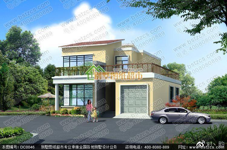 图纸  别墅_农村房屋设计图_二层建房设计图_农村房子设计图   轩鼎房