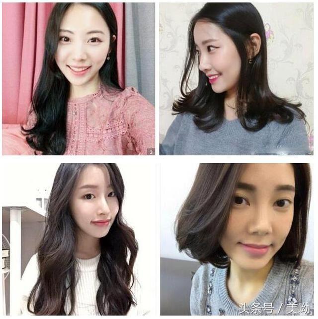 2018最新流行短发中长发烫发,美出新高度