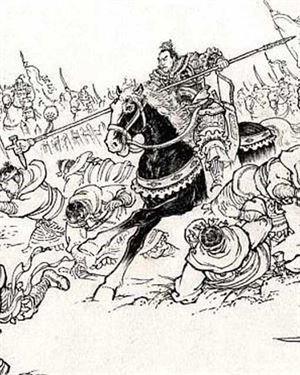 第一名【方天画戟】此戟乃三国时期第一猛将温侯吕布的掌中宝戟.