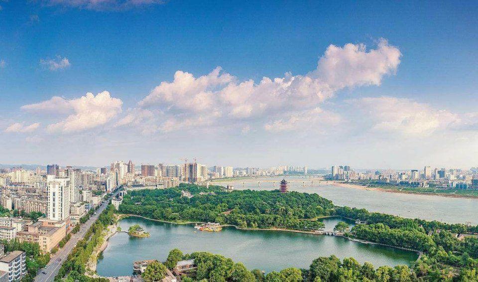 图中所示为衡阳,这座城市gdp总值为2853.02亿元,在湖南省内位居第四