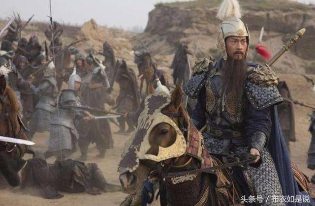 郎中令王翳斩下项羽的首级,而他部下的骑兵为了分夺项王的尸身大打