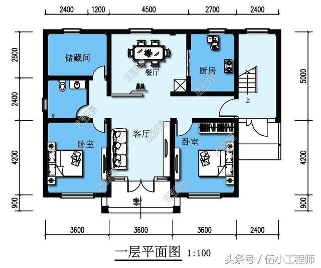 7张不同的农村自建房别墅设计图纸,工程师推荐!