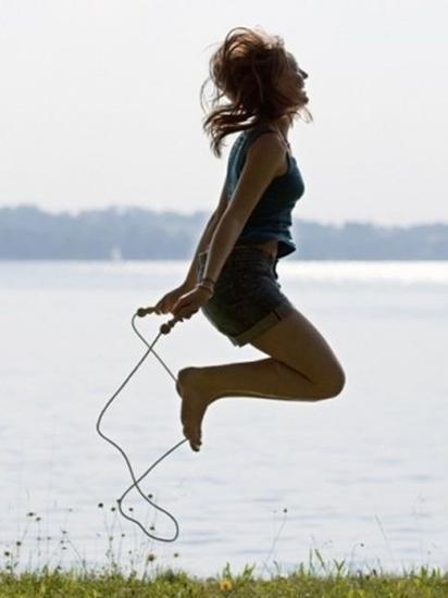 瘦瘦脸及大腿5个选择瘦身做跳绳运动的小腹淼淼原因针图片