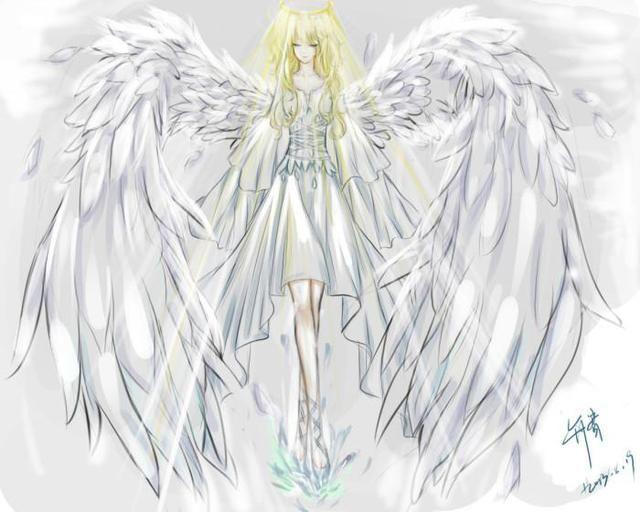 十二星座专属美少女插画,射手座绝色妖姬,双子是落入凡尘的天使