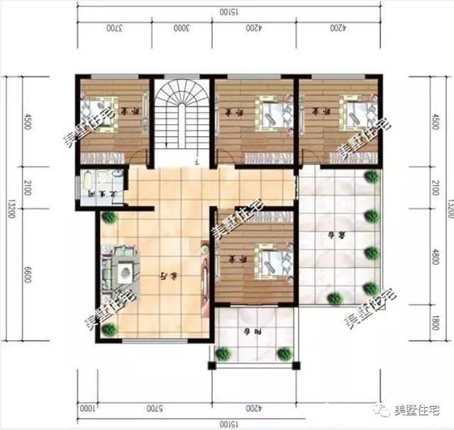 6.5x14米自建房设计图
