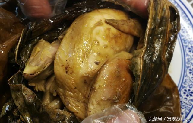 路遇美食,西安城南农贸市场热爱20元的叫花鸡v美食美食南坪图片