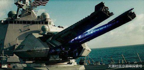 电磁轨道炮视频_变形金刚,尝尝中国的电磁轨道炮!